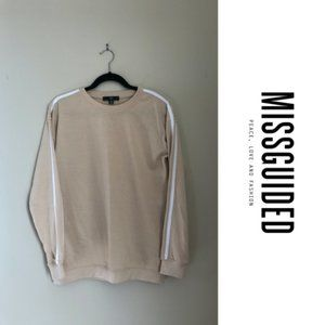 *WORN ONCE* TAN SWEATER FROM MISSGUIDED